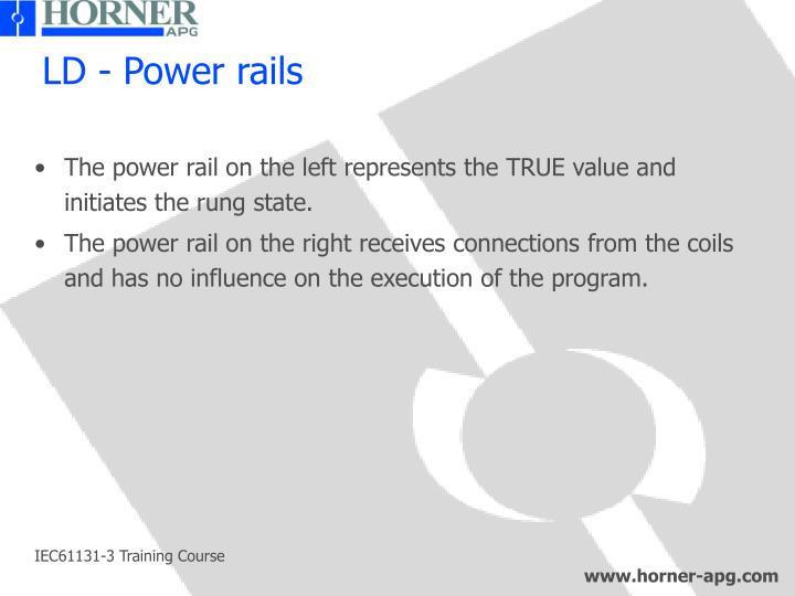LD - Power rails