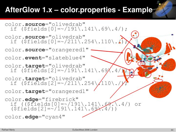 AfterGlow 1.x – color.properties - Example