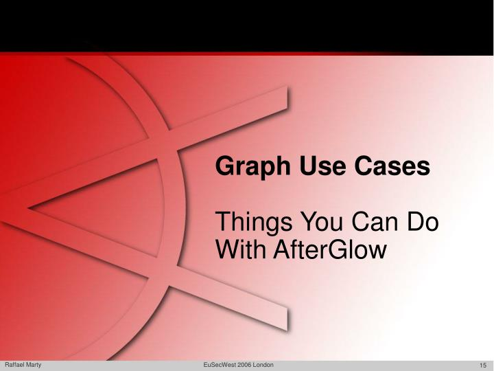 Graph Use Cases