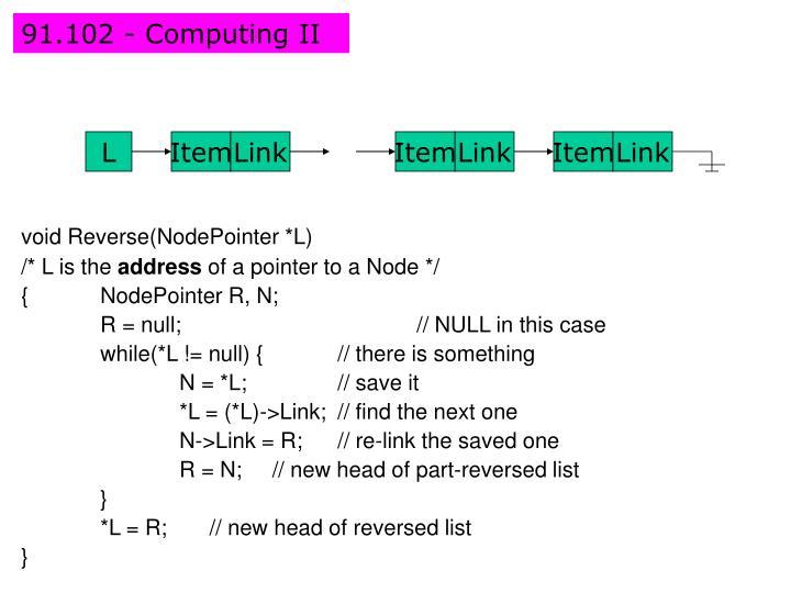 91.102 - Computing II