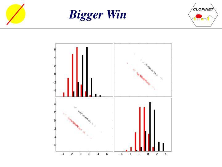 Bigger Win