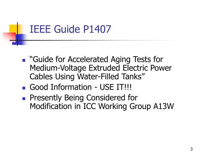 IEEE Guide P1407