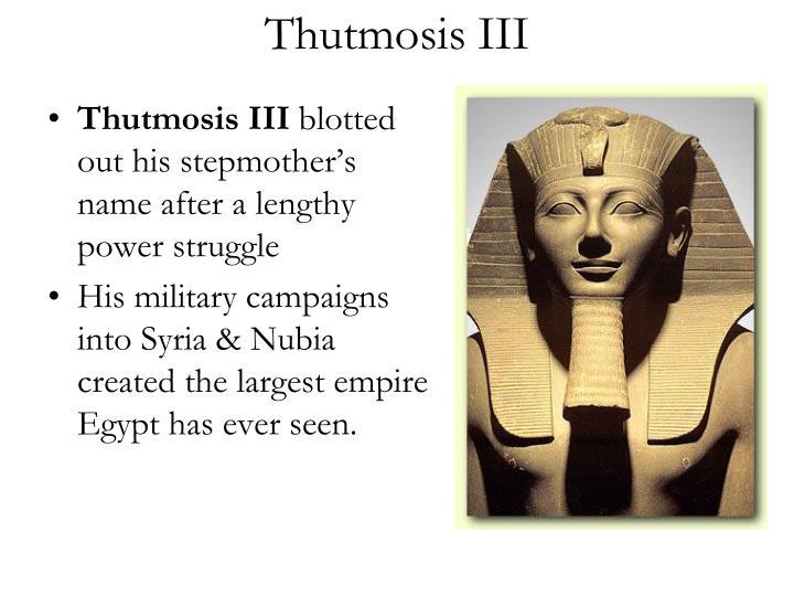 Thutmosis III