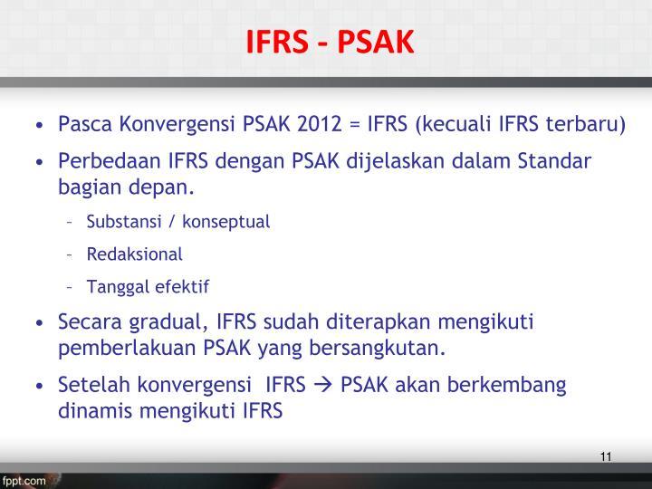 IFRS - PSAK