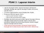 psak 3 laporan interim