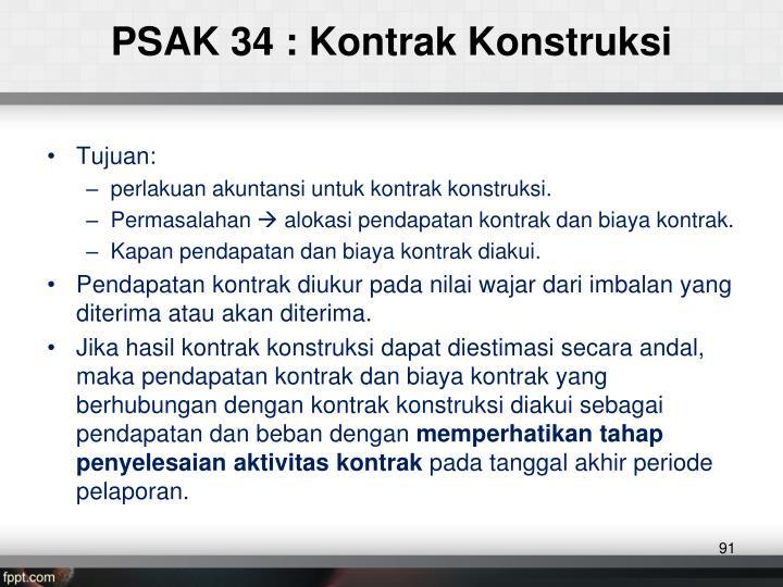 PSAK 34 :
