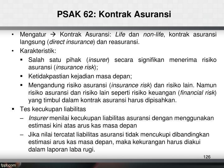PSAK 62: