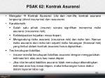psak 62 kontrak asuransi1