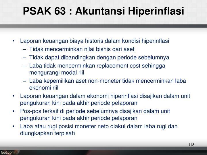 PSAK 63 :