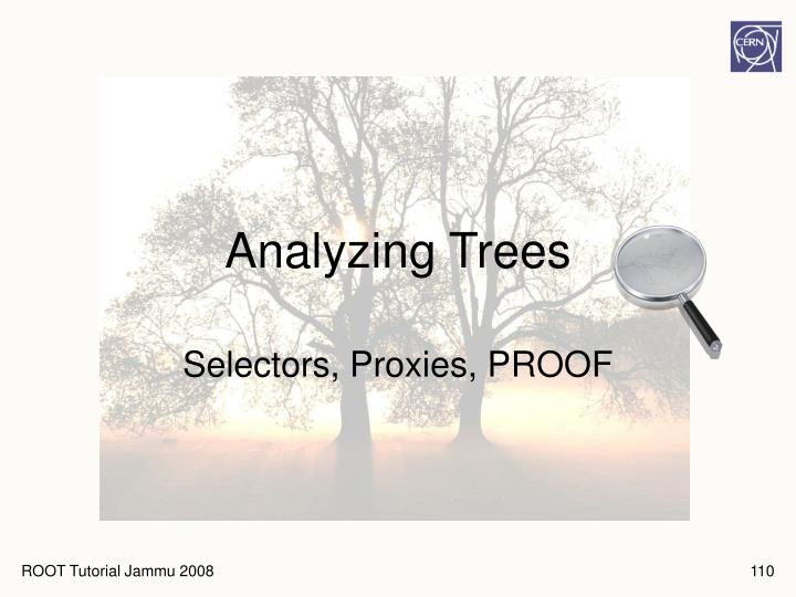 Analyzing Trees