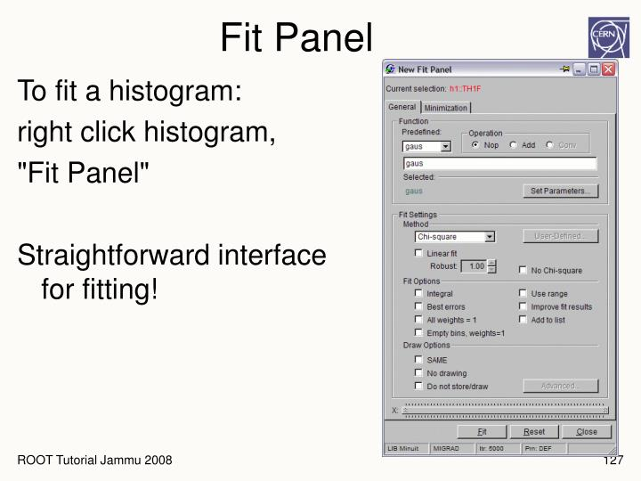 Fit Panel