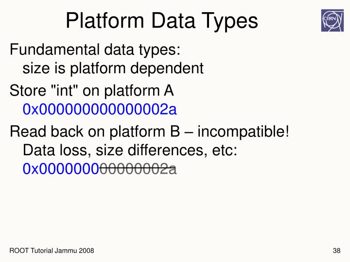 Platform Data Types