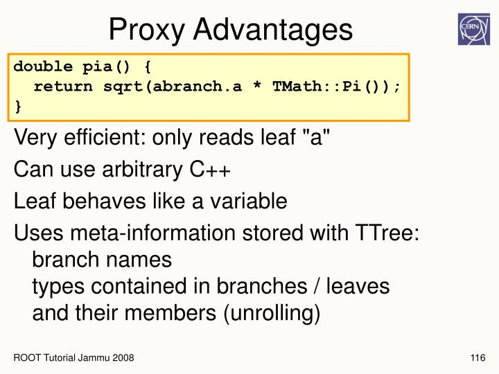 Proxy Advantages
