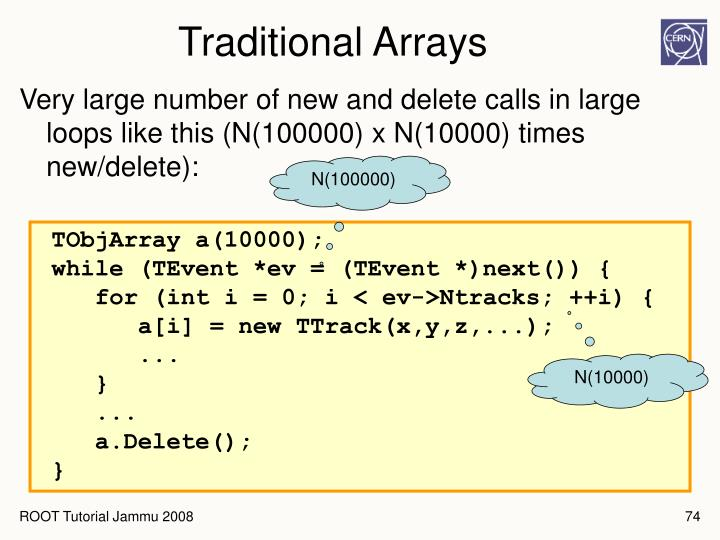 Traditional Arrays