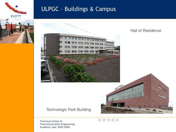 ULPGC – Buildings