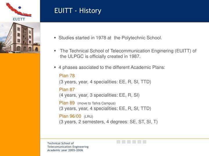 EUITT - History