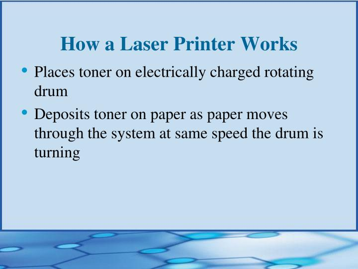 How a Laser Printer Works