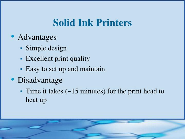 Solid Ink Printers