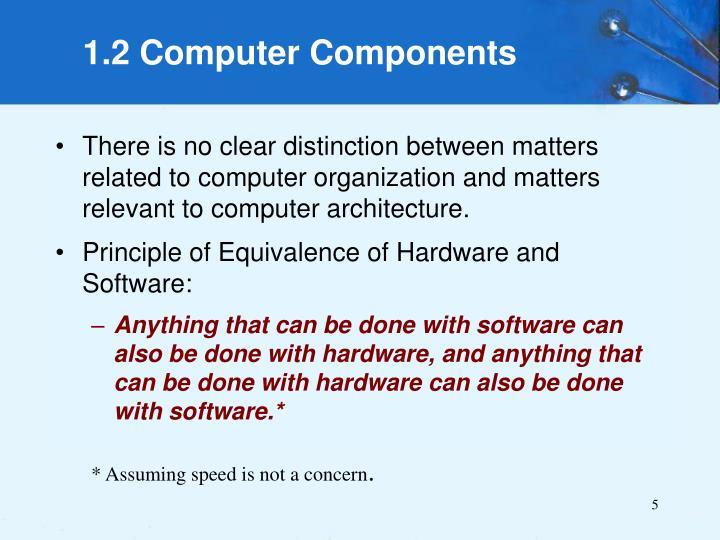 1.2 Computer Components