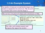 1 3 an example system14