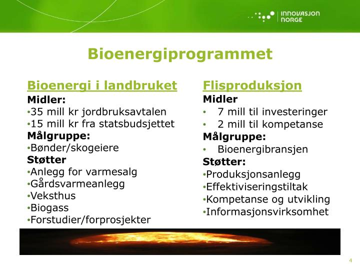 Bioenergi i landbruket