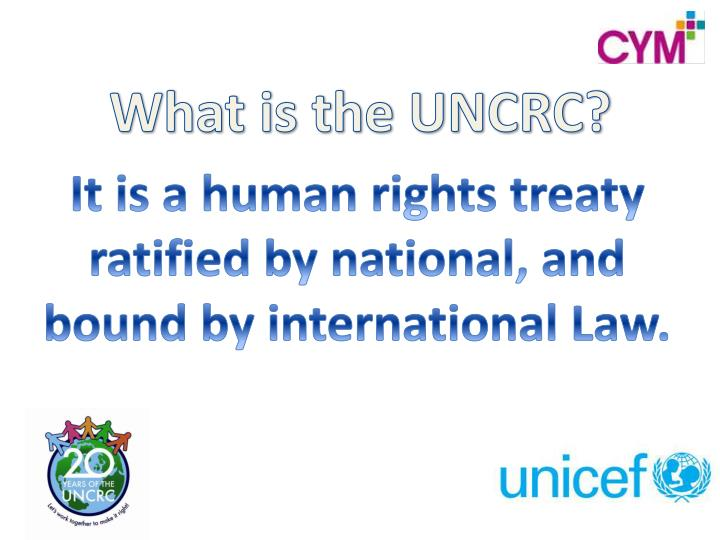 It is a human rights treaty ratified by national, and bound by international Law.