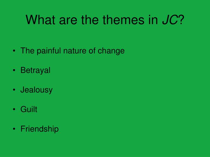 What are the themes in