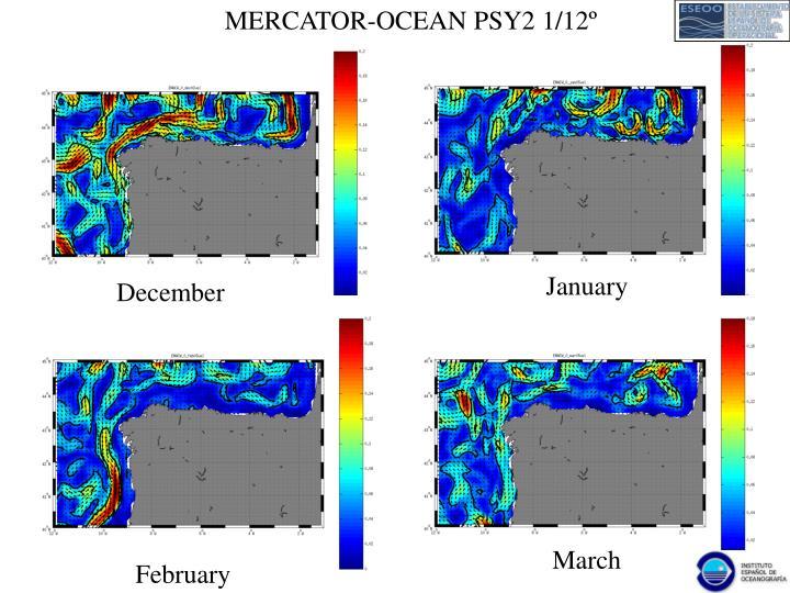MERCATOR-OCEAN PSY2 1/12º