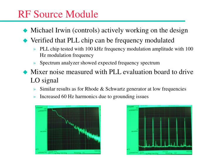 RF Source Module
