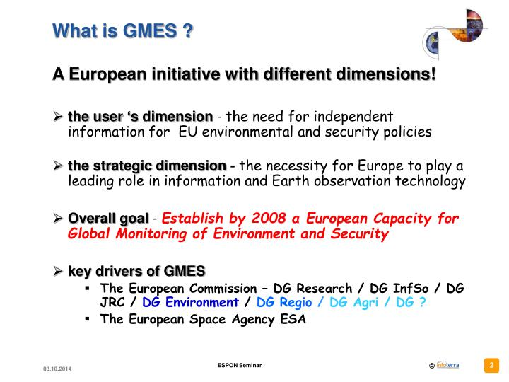 What is gmes