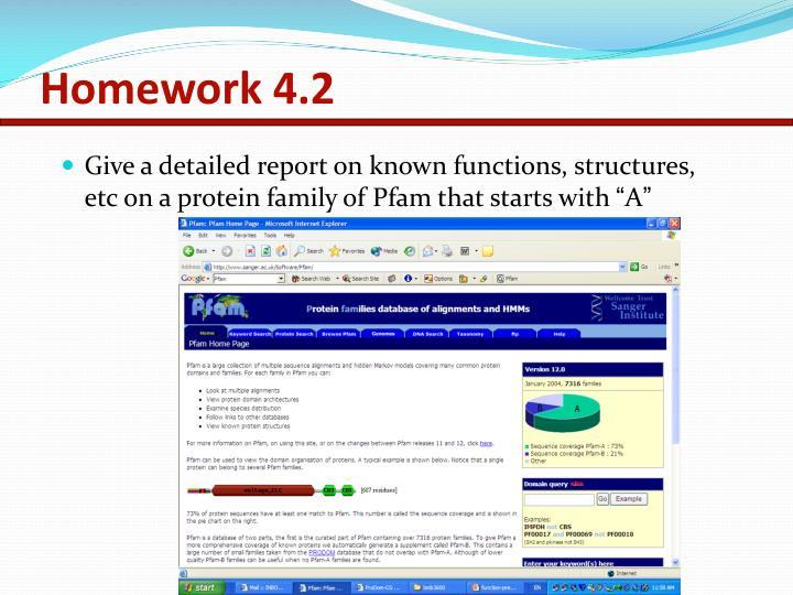 Homework 4.2