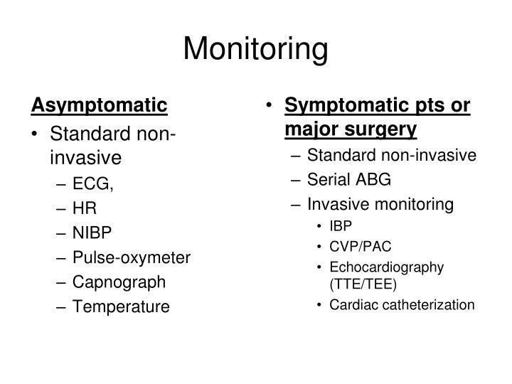 Asymptomatic