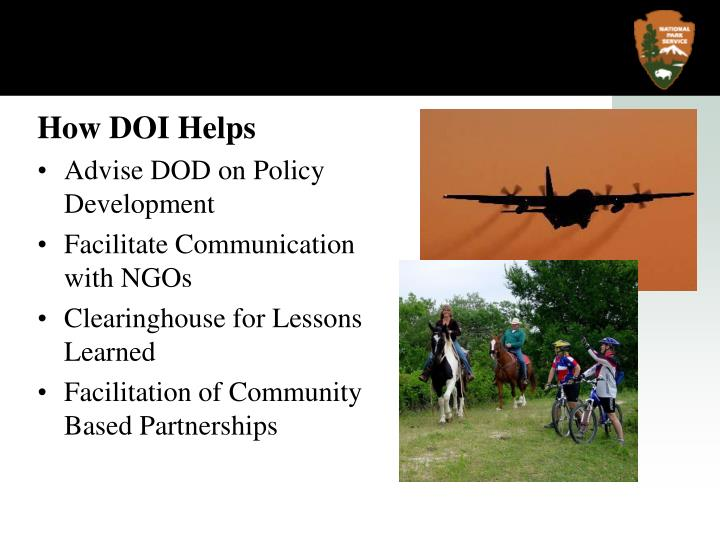 How DOI Helps