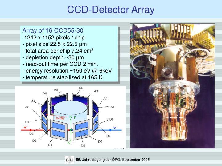 CCD-Detector Array