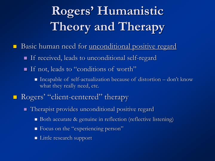 Rogers' Humanistic