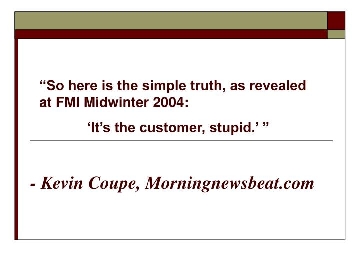 Kevin coupe morningnewsbeat com