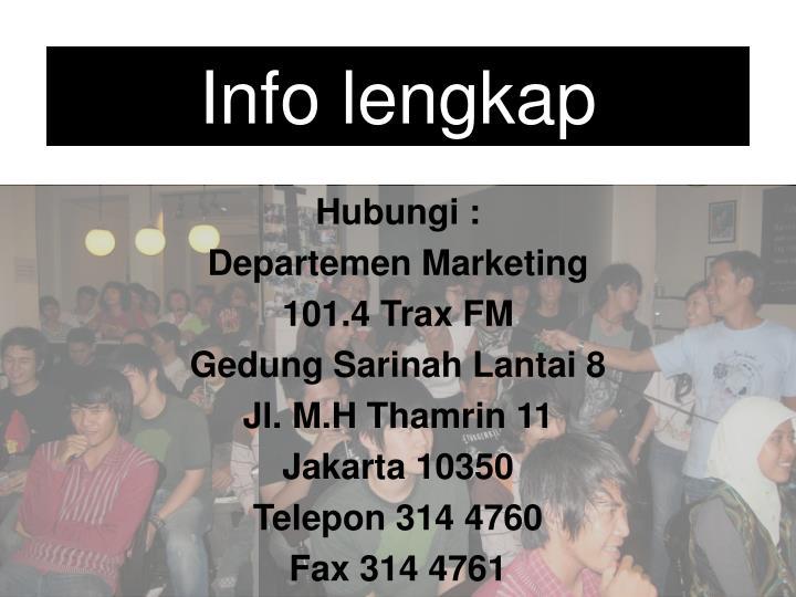Info lengkap