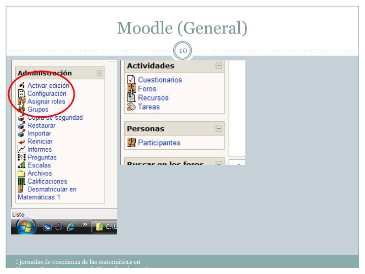 Moodle (General)
