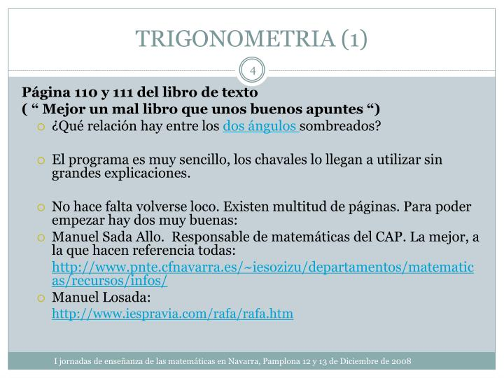 TRIGONOMETRIA (1)