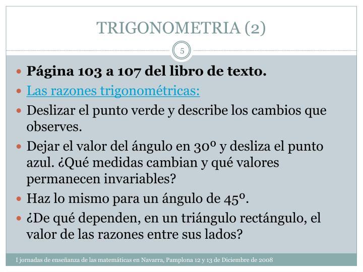 TRIGONOMETRIA (2)
