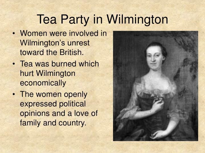 Tea Party in Wilmington