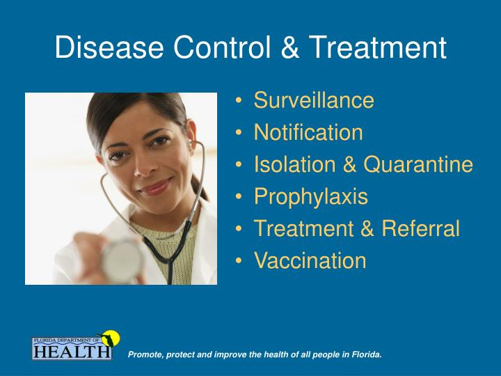 Disease Control & Treatment