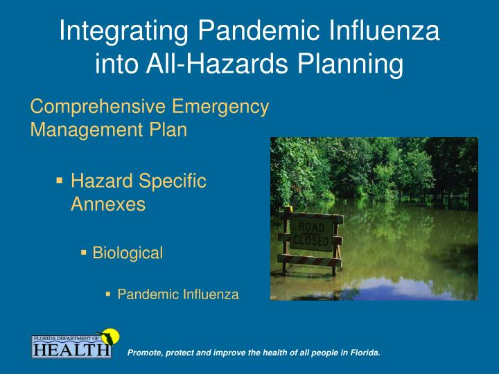 Integrating Pandemic Influenza