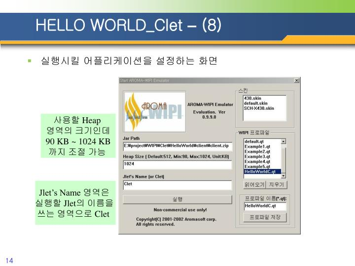 HELLO WORLD_Clet