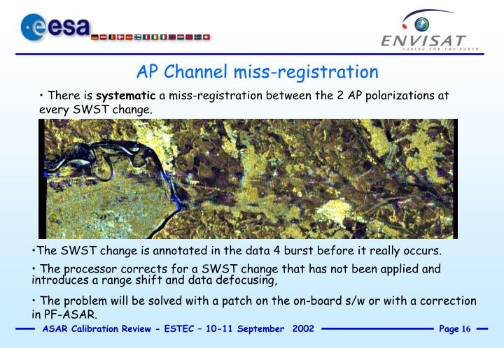 AP Channel miss-registration