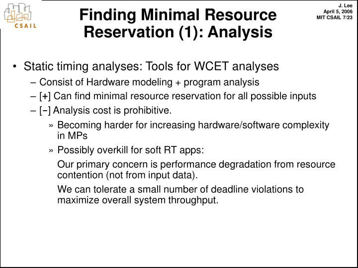 Static timing analyses: Tools for WCET analyses