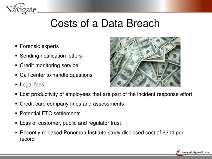 Costs of a Data Breach