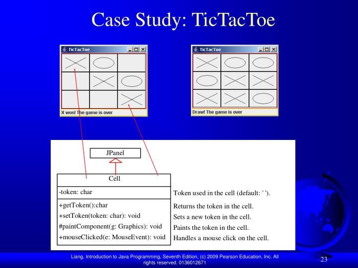 Case Study: TicTacToe