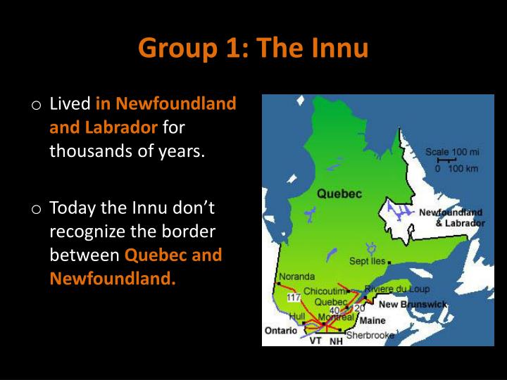 Group 1: The Innu