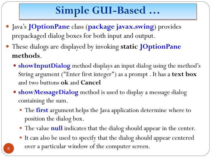 Simple GUI-Based …